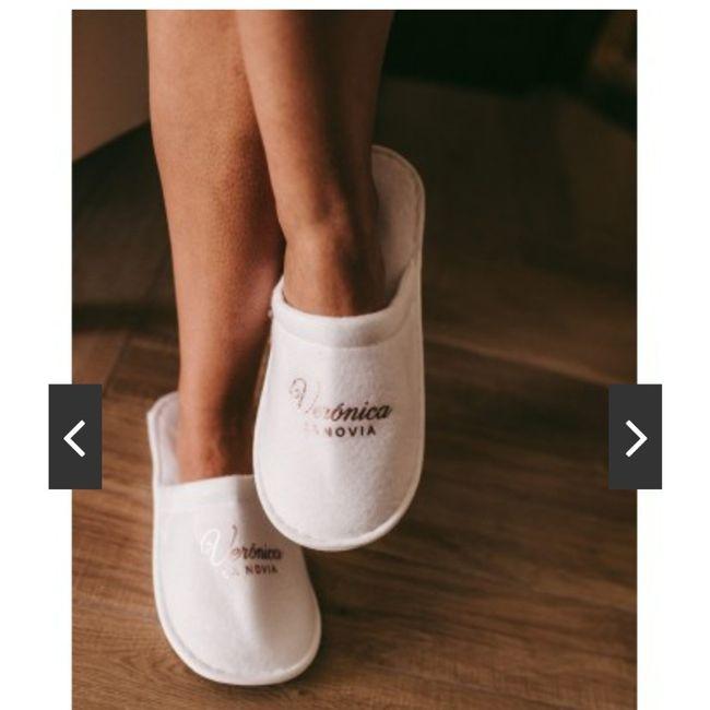 Zapatillas casa novia 2