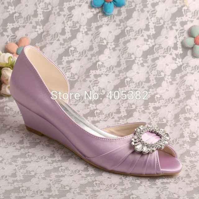 Zapatos rosa palo 5-6cm maximo - 5