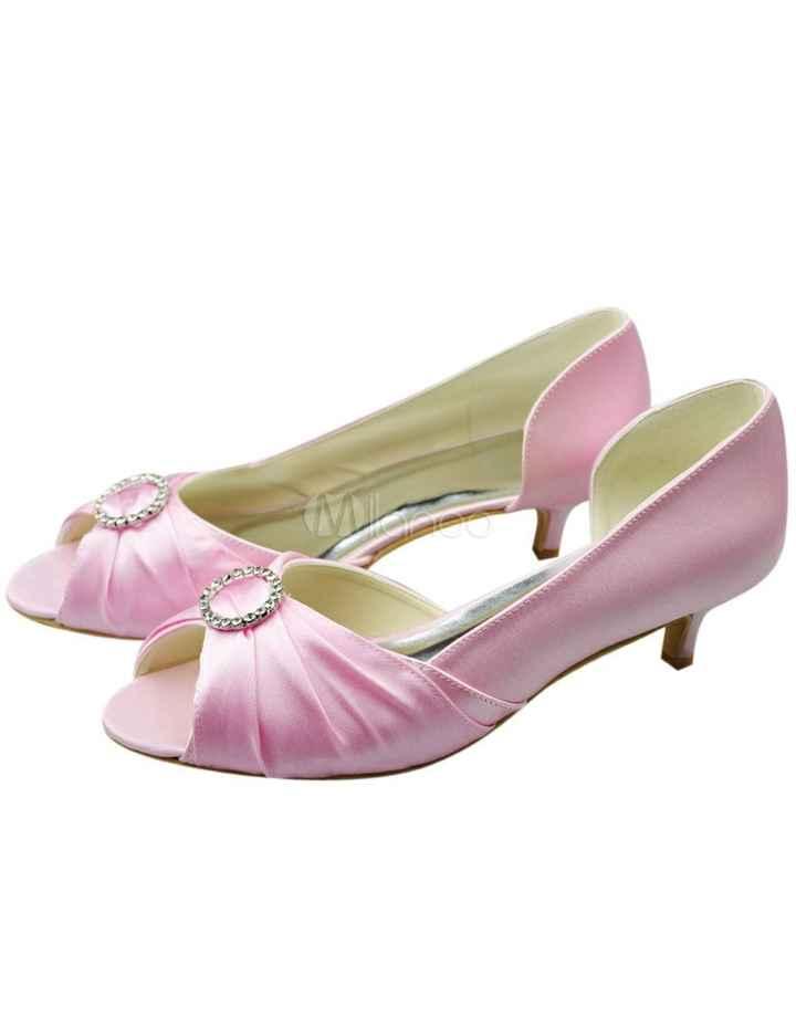 Buscar zapatoa rosa palo en badajoz. - 2