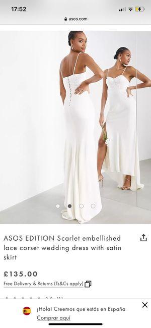 Ayuda truco vestido de novia 2