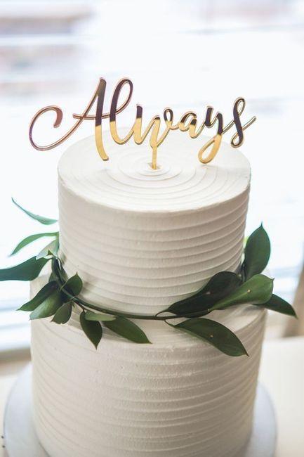 Este CAKE TOPPER... ¿lo tomas o lo dejas? 1