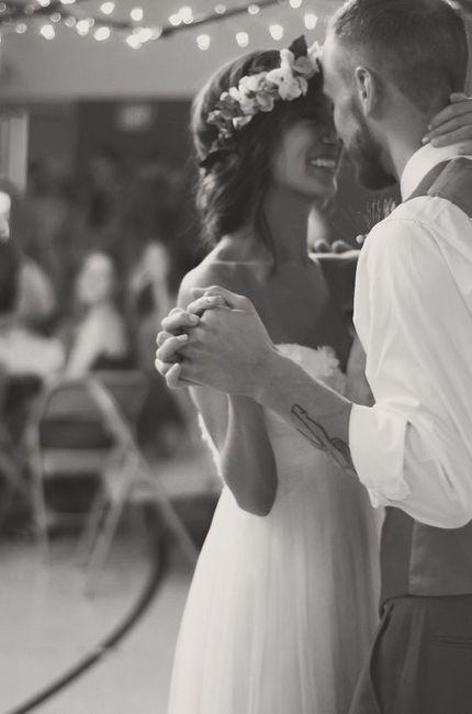 La canción del primer baile será ____ 1