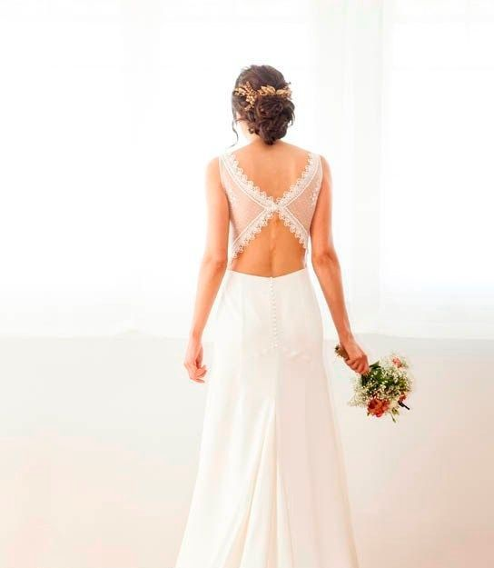 TOP 10 Espaldas de novia 10