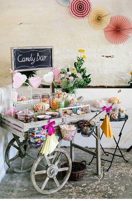 Candy bar: ¿carrito o mesa? 🎂 1