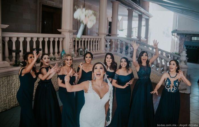 Lanzar el ramo de novia: ¿Sí o No? 1