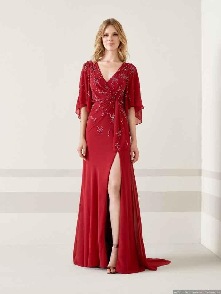 4. Vestido rojo