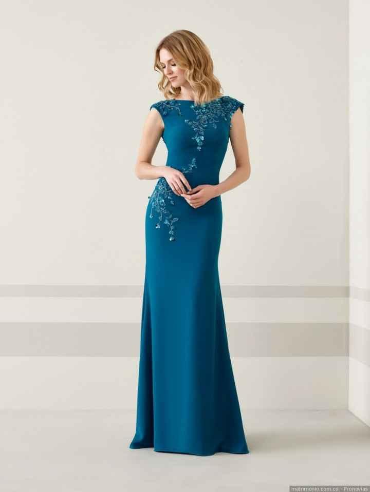 5. Vestido azul