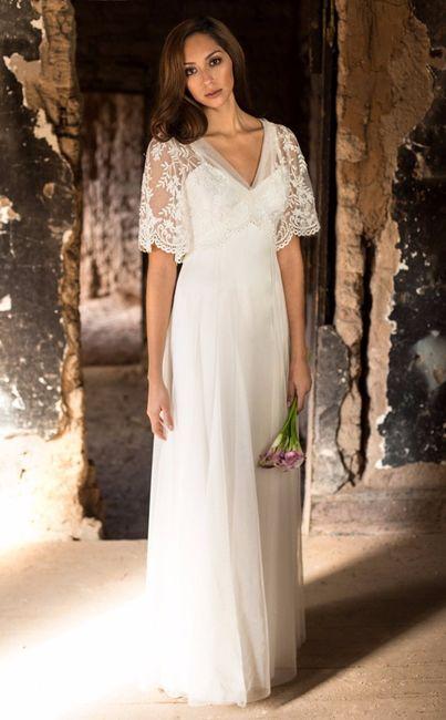 Vestido de boda novia boho