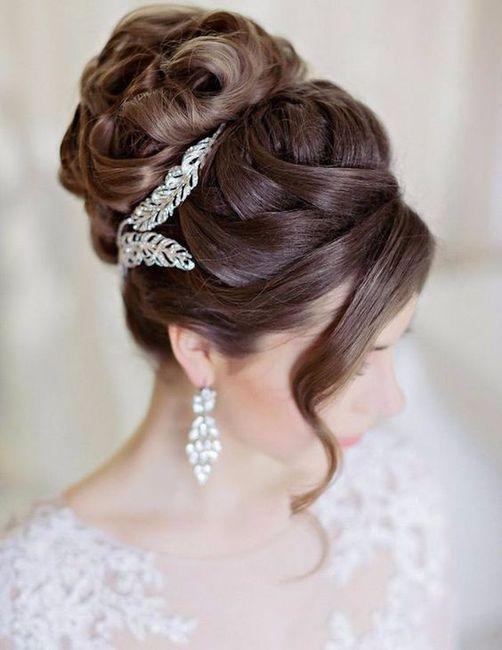 5 peinados recogidos para novias elegantes 1