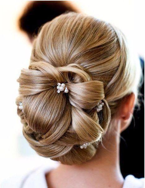 peinados recogidos para novias elegantes