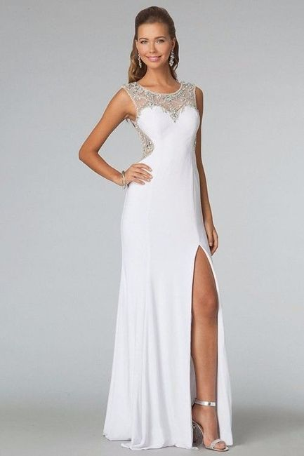 faldas con tajo: ¿si o no? - moda nupcial - foro bodas