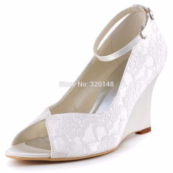 zapatos cómodos para vestidos de novia elegantes