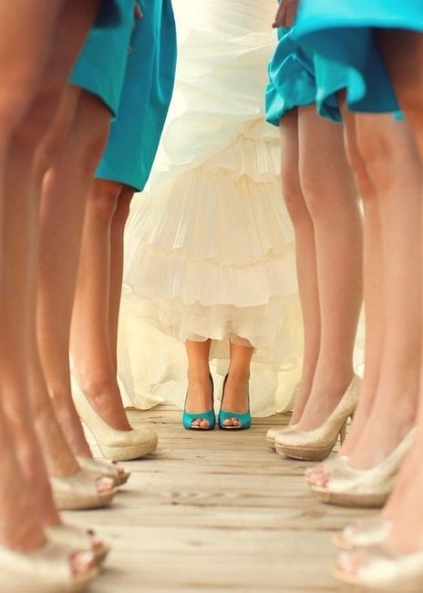 zapatos novia color