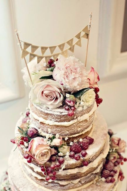 Este naked cake: ¿Te lo llevas o pasas? 1