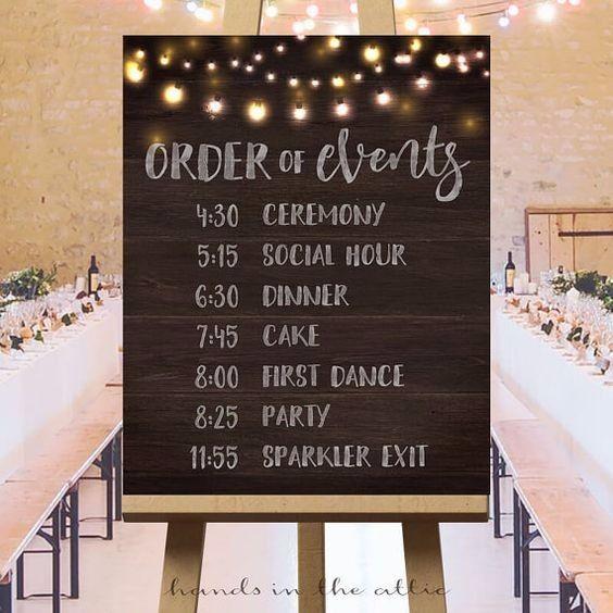 ¿A qué hora será tu ceremonia? 1