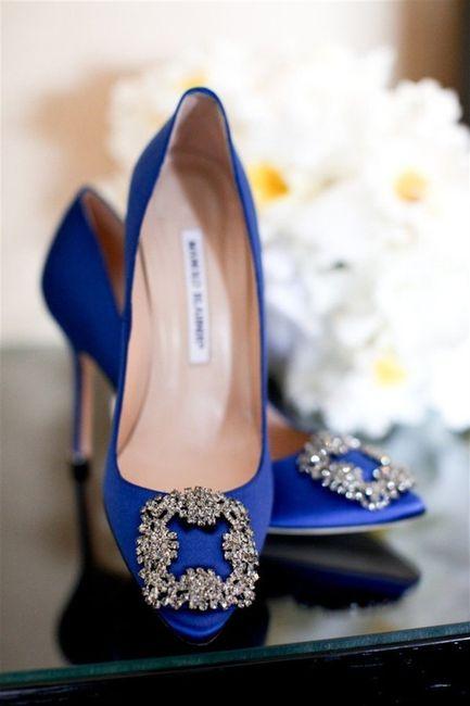Zapatos: ¿blancos o de color? 2
