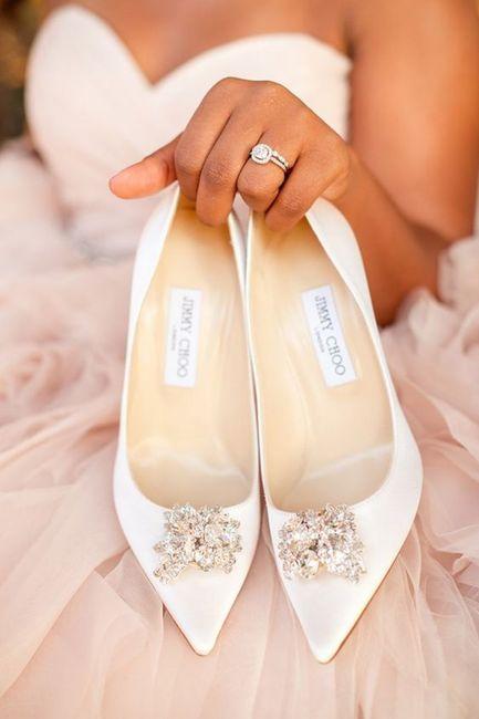 Zapatos: ¿blancos o de color? 1