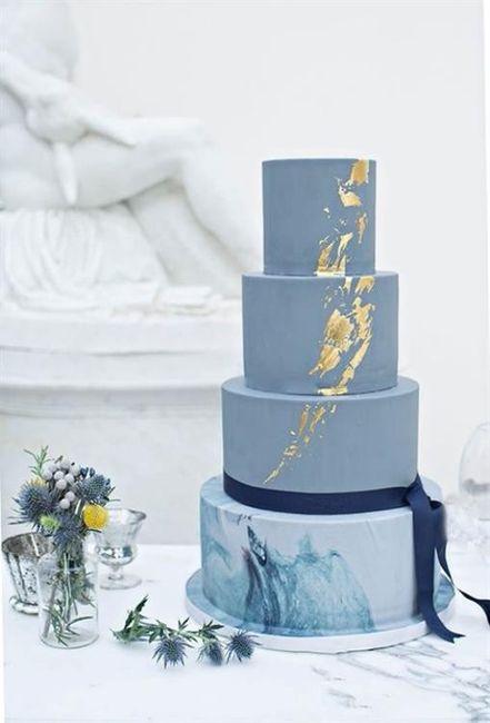 Torta: ¿blanca o de color? 2