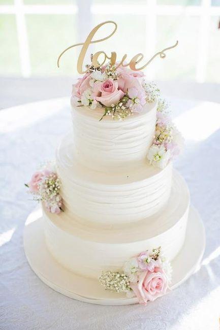 Torta: ¿blanca o de color? 1
