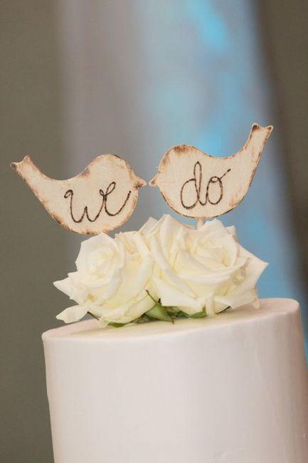 Qué tipo de novia eres según el CAKE TOPPER 1