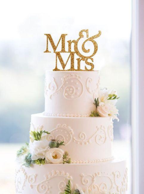 Qué tipo de novia eres según el CAKE TOPPER 3