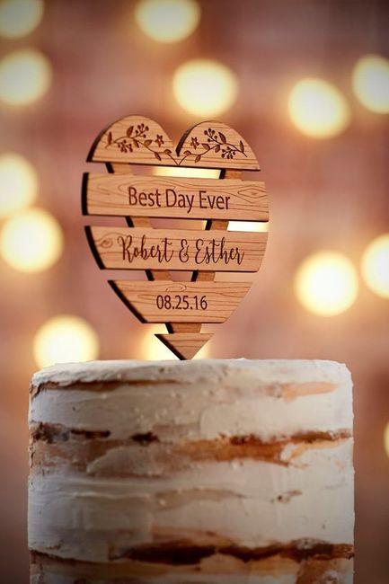 Qué tipo de novia eres según el CAKE TOPPER 2