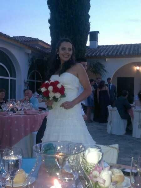 Otra fotito mía de la boda