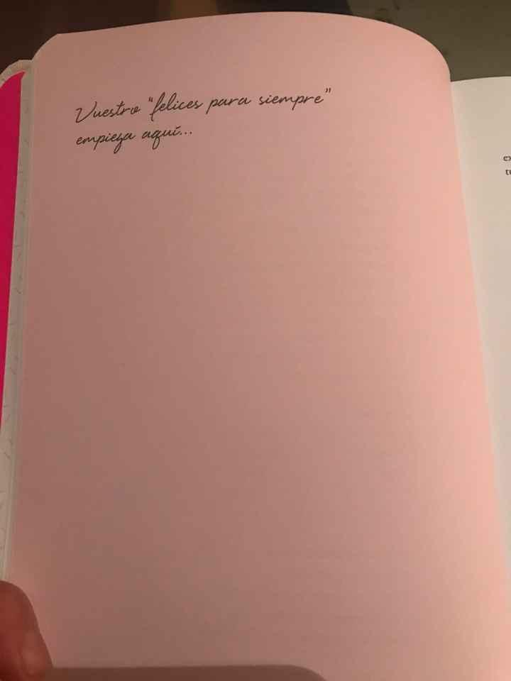 Diario de nuestra boda @bodasdecuento - 2