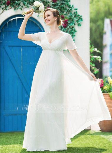 vestido ibicenco tallas grandes y de buen precio - moda nupcial