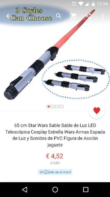 Espadas laser star wars baratas - 2