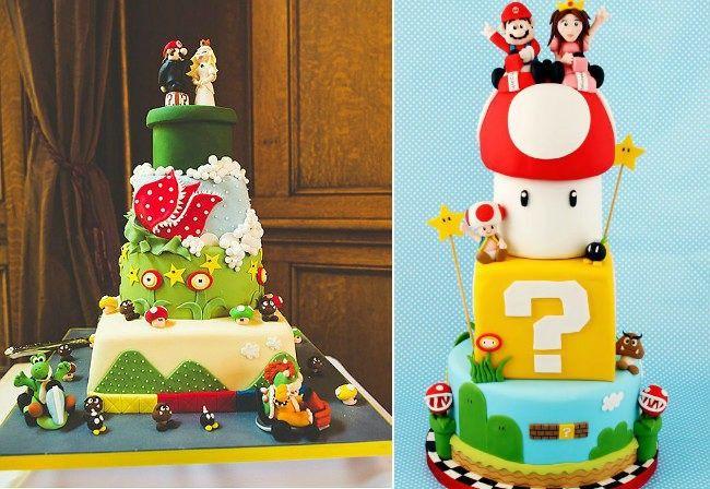 Boda temática de Mario Bros 2