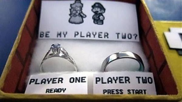 Boda temática de Mario Bros 7