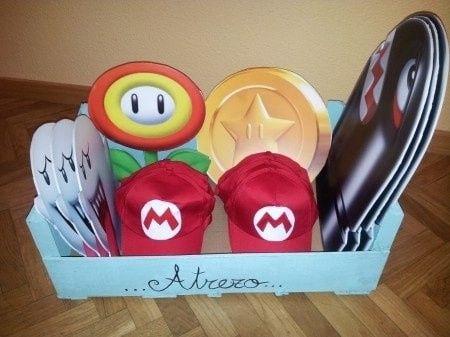 Boda temática de Mario Bros 9