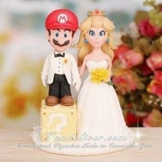 Boda temática de Mario Bros 11