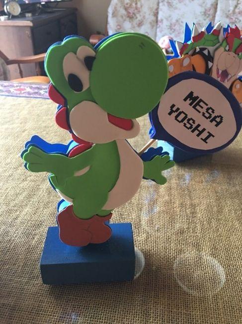 Boda temática de Mario Bros 14