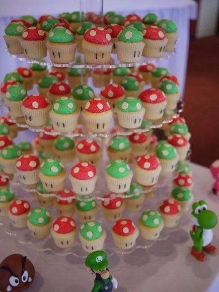 Boda temática de Mario Bros 16