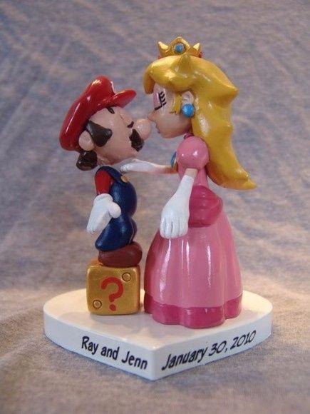 Boda temática de Mario Bros 17