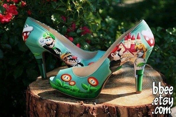 Boda temática de Mario Bros 18