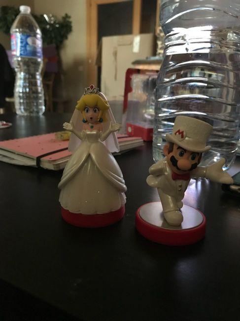 Boda temática de Mario Bros 21