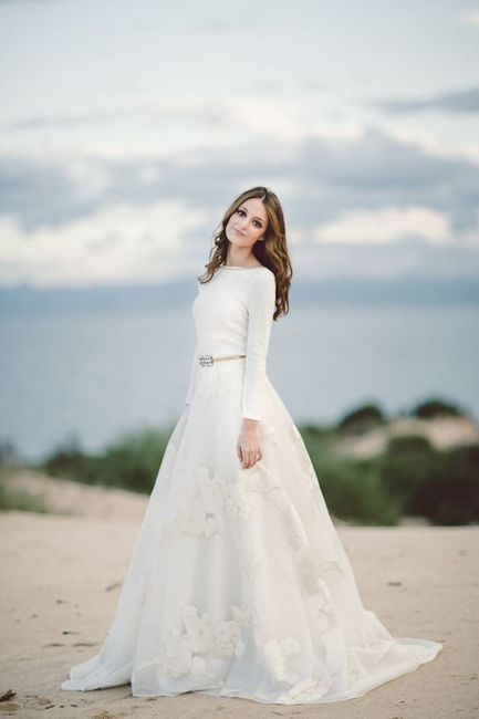 Vestidos novia oh que luna precios
