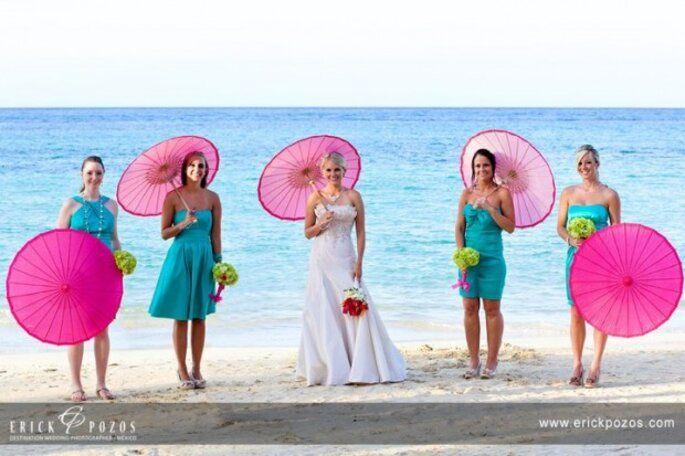 Ideas para sobrellevar bodas con  días calurosos. 11