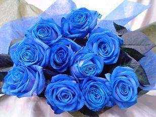 Ramo de rosas azules - 3