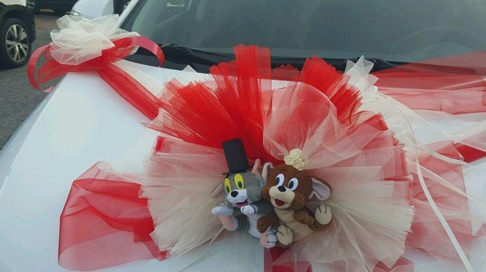 Decoraci n del coche de la novia organizar una boda foro - Decoracion coche novia ...