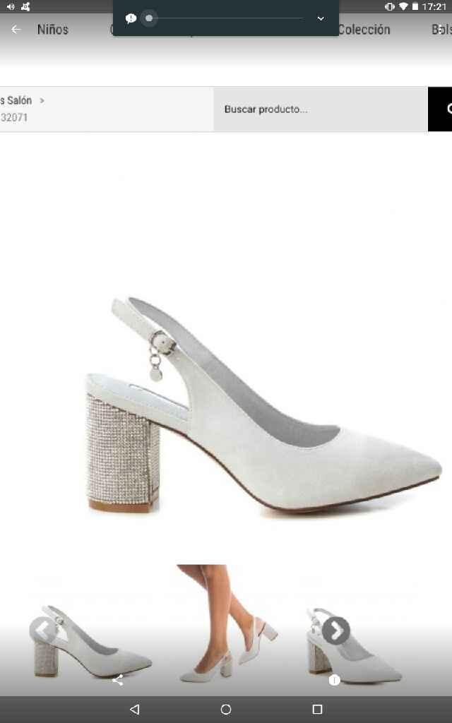 Zapatos con menos tacón - 1