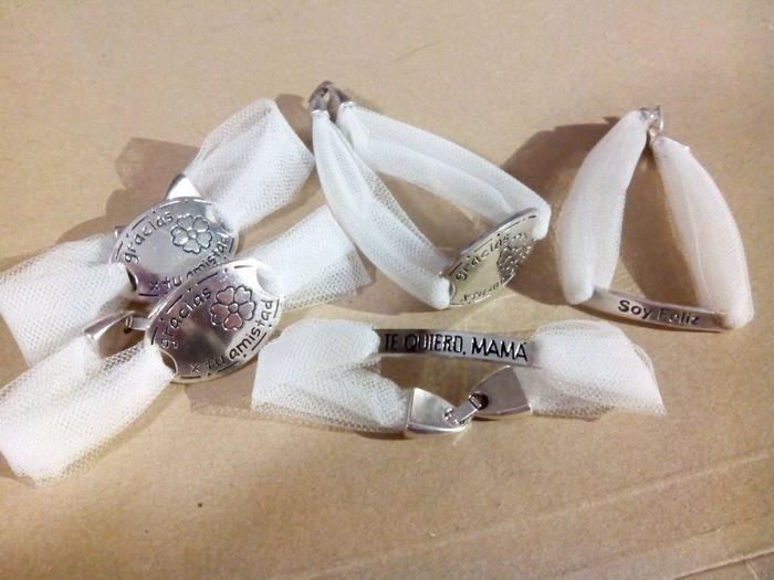 como hacer pulseras con vestido de novia – vestidos madrina