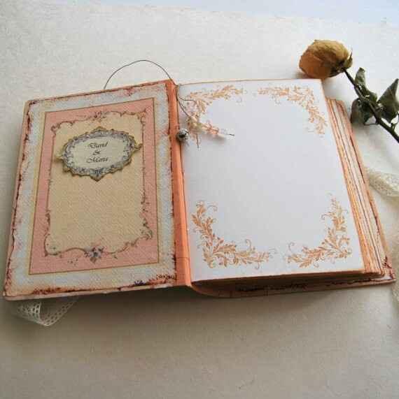 Busco libro de firmas estilo cuento de hadas medieval - 1