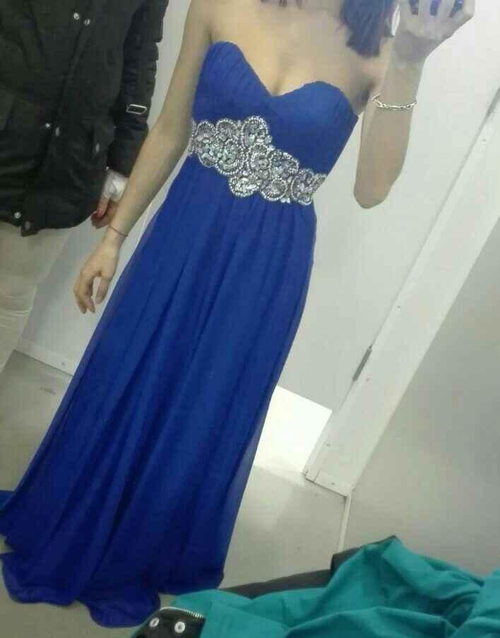El vestido de mi hermana. - 1