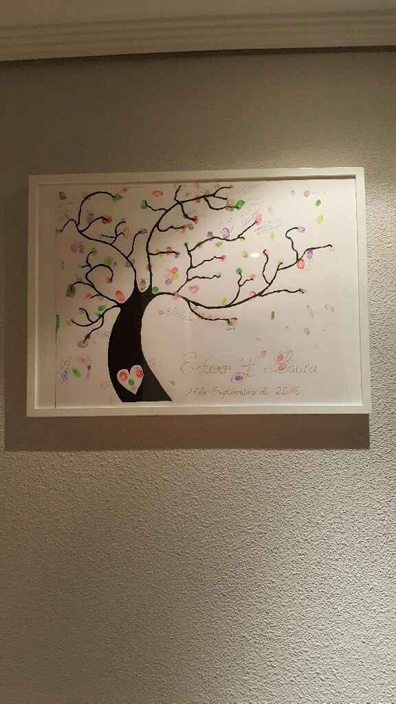Nuestro árbol de huellas casero - 1