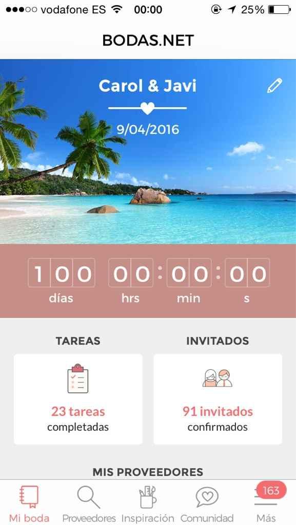 A sólo 100 días!!!!! - 1
