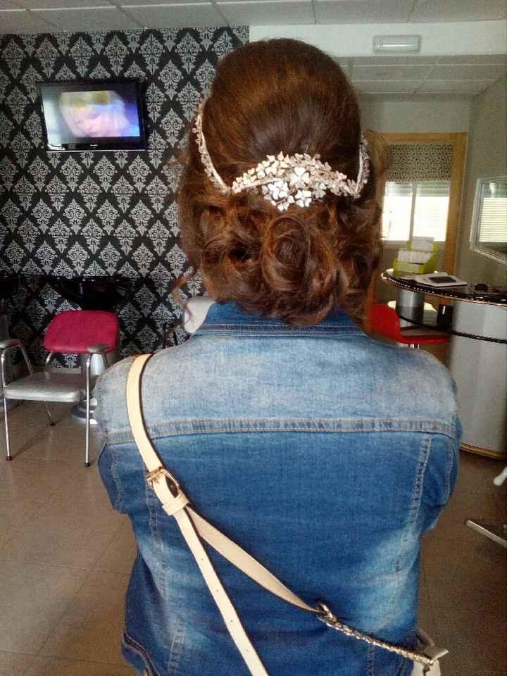 Prueba de peinado, maquillaje y vestido - 1